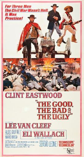 The Good The Bad And The Ugly Clint Eastwood Lee Van Cleef Eli Wallach 1966 Poster Art Movie Poster Masterprint