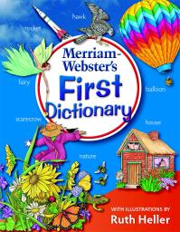 Merriam-Webster First Dictionary Hardcover Book, Grade K - 2