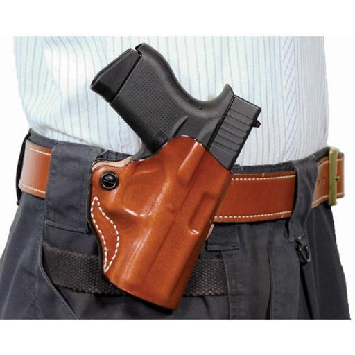 Desantis 019tbe1z0 desantis mini scabbard holster lh owb leather glk 2627 tan
