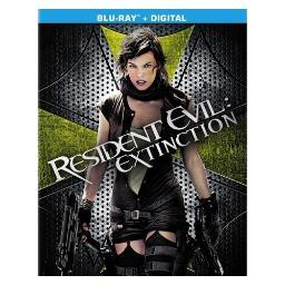 Resident evil-extinction (blu ray/ultraviolet) (package refresh) BR49560