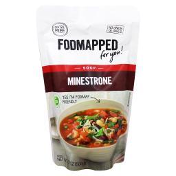 Fodmapped - Gluten Free Soup Minestrone - 17.6 oz.