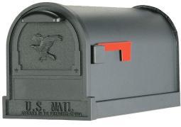 Solar Group 5863832 Arlington Deluxe Mail Box, Black