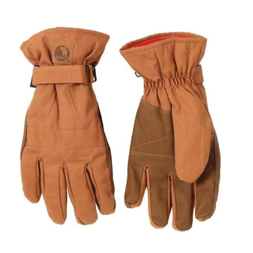Berne Apparel GLV12BD440 Insulated Work Glove, Brown Duck - Large
