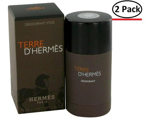 Terre D'Hermes by Hermes Deodorant Stick 2.5 oz for Men (Package of 2) Hermes Terre D'Hermes harkens to the scent of a natural man living in splendor. This elegant fragrance debuted on the market in 2006 and quickly defined itself as a leading industry standard. We are pleased to sell Hermes Terre d'Hermes products, including Terre d'Hermes cologne.