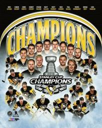 Pittsburgh Penguins 2016 Stanley Cup Champions Composite Sports Photo PFSAATB07501