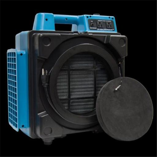XPOWER Manufacture X-2480A-Blue 3 Stage Filtration HEPA Purifier System Mini Air Scrubber, Blue
