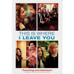 THIS IS WHERE I LEAVE YOU (DVD/ULTRAVIOLET) 883929387908