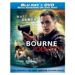 Bourne identity blu ray/dvd combo disc BR61113492
