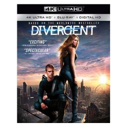 Divergent (blu-ray/4kuhd/mast/ultraviolet) (ws/eng/eng sub/sp sub/eng sdh) BR49789