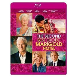 SECOND BEST EXOTIC MARIGOLD HOTEL (BLU-RAY/DIGITAL HD/WS-2.39) 24543989059