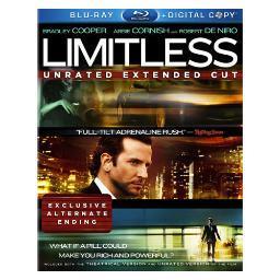 Limitless (blu-ray/dc/2 disc/ws-2.40/eng-fr-sp sub/sac) BR2275943