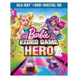 Barbie-video game hero (blu ray/dvd w/digital hd) BR63179089