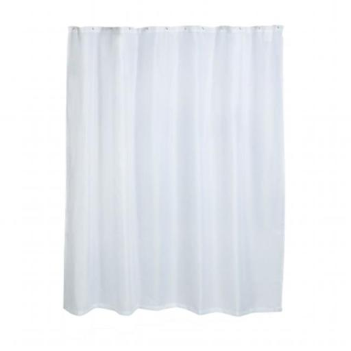 Honey-Can-Do BTH-03293 Shower Curtain Liner Curtain Liner, White