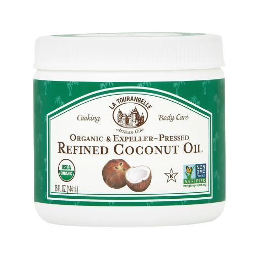 La Tourangelle Refined Coconut Oil - Case of 6 - 15 Fl oz. ZWBSZXTXA3UWCGER