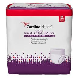 Cardinal Health 55UWFBLXL Absorbency Flex Right Protective Underwear for Women