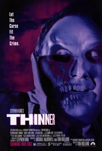 Stephen King's Thinner Movie Poster (11 x 17) QHR0E5BYWFFEOLNT