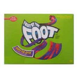 Betty Crocker Fruit by the Foot Rolls Fruit Flavored Snacks Berry Tie-Die
