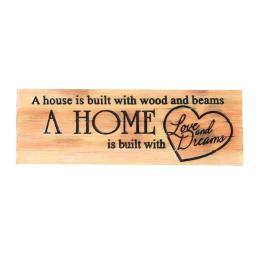 Spoontiques 12010781 House & Home Decorative Sign