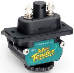 Batterytender 027-0004-kit battery tender black power connect trolling motor dc connector