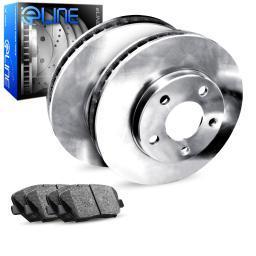 [REAR] eLine Replacement Brake Rotors & Semi-Met Brake Pads REB.4703302