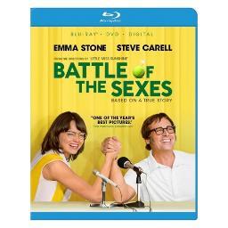 Battle of the sexes (2017/blu-ray/dvd/digital hd) BR2333037