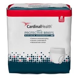 Cardinal Health 55UWMBLXL 45-58 in. Maximum Absorbency Flex Right Protective Underwear for Men - Large & Extra Large
