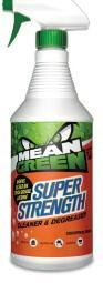 Mean Green Super Strength Multi Surface Cleaner & Degreaser 32 oz Spray Bottle