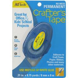 """Crafter's Tape Permanent Glue Runner .31""""X315"""""""