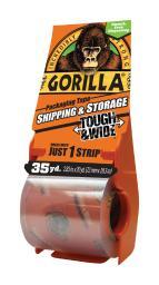 Gorilla 2.88 in. W x 35 yd. L Tape Clear - Case Of: 1;