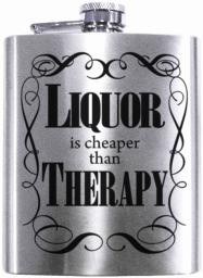 Spoontiques 15733 liquor cheaper-therapy flask