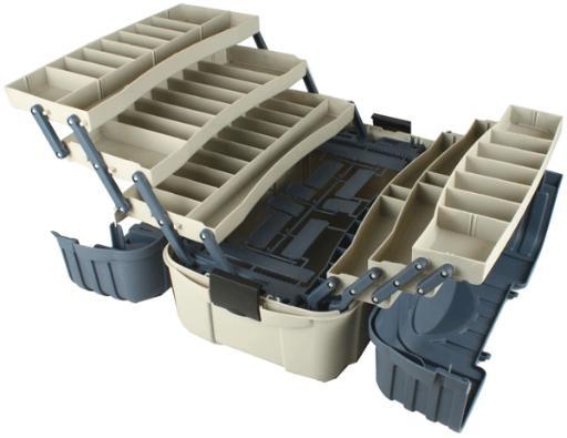 Flambeau flam 7 tray hip roof tackle box