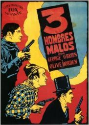Three Bad Men Movie Poster (11 x 17) MOV206667