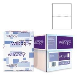Domtar 851055 Custom Cut-Sheet Copy Paper  92 Brightness  20lb  8-1/2x11  White  2500/Carton 851055