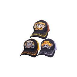 Capsmith srumb3 rumblin biker cap assortment  3