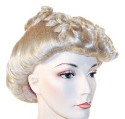 Pompadour Hair style Wig LW131BK