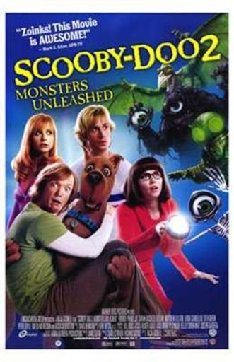 Scooby-Doo 2 Monsters Unleashed Movie Poster (11 x 17) JWOSZZ2HBQL2FHXF
