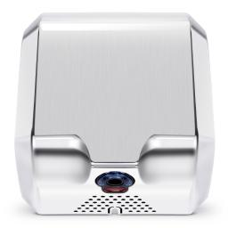 ARKSEN High Speed 1800W Fast 100m/s Dry Hot Stainless Steel Polished Automatic Hand Dryer for Commercial Bathroom