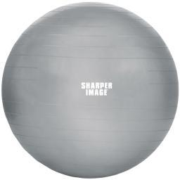 Sharper image si-bb-650-sil 65mm balance pro fitness ball (silver)