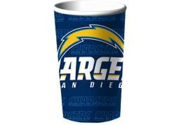 Nfl cup san diego chargers (18 piece sleeve) (22 ounce)-nla 1DCL7263