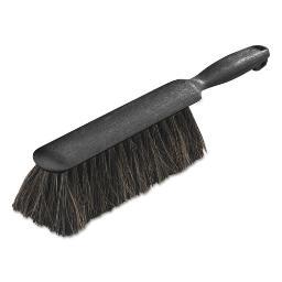 "Counter/Radiator Brush Horsehair Blend 8"" Brush 5"" Handle Black   Total Quantity: 1"