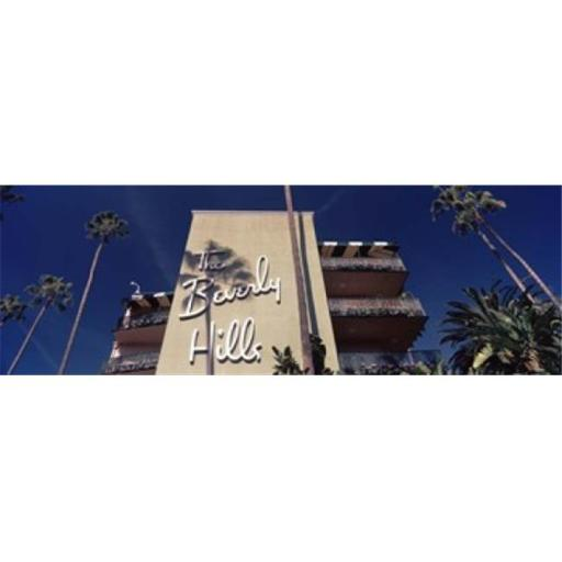 Panoramic Images PPI125054L Low angle view of a hotel Beverly Hills Hotel Beverly Hills Los Angeles County California USA Poster Print by Panoram