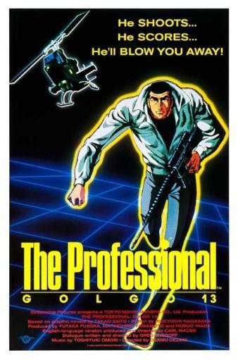 The Professional Golgo 13 Movie Poster (11 x 17) AGLESJTLMRN2MIWT