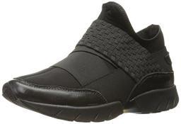 Bernie Mev Women's Razer Fashion Sneaker, Black, 40 EU/9.5-10 M US