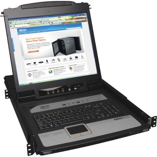 Tripp Lite B020-U08-19-Ip 8 Port Kvm Switch 19 Lcd