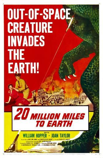 20 Million Miles To Earth Poster Art 1957. Movie Poster Masterprint UTXBPBJHEWQPKJVS