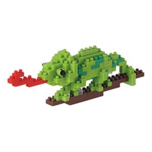 Nanoblock 56341 3D Puzzle Chameleon YYOQUESD6SZRLZPH