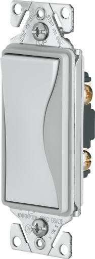 Cooper Wiring 9501ws Single-pole Aspire Switch, White Satin