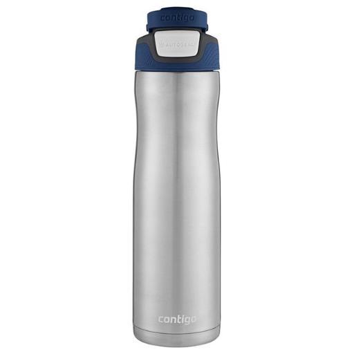 Ignite USA 225643 24 oz, Stainless Steel Water Bottle Leak Spill Proof-Monaco