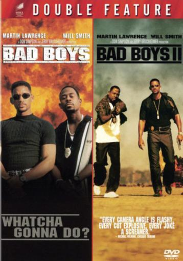 Bad boys/bad boys ii (double feature/dvd)