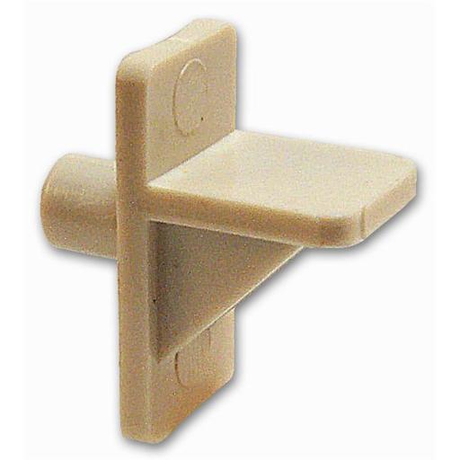 Home Prod Dorfile 12 Count White Plastic Shelf Supports
